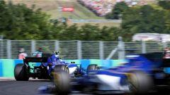 F1 2017 GP Ungheria, le due Sauber di Ericsson e Wehrlein