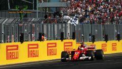 F1 2017 GP Ungheria, Sebastian Vettel vince