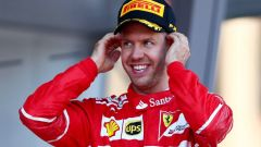 """F1 2017, GP Ungheria, Sebastian Vettel: """"Il contratto? Non c'è fretta, ora pensiamo al Mondiale"""""""