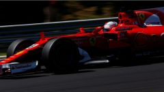 F1 2017 GP Ungheria, Sebastian Vettel