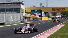 F1 2017 GP Ungheria, Sergio Perez e Stoffel Vandoorne