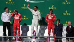 F1 2017 GP USA, il podio