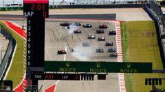 F1 2017 GP USA, la partenza