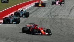 F1 2017 GP USA, le fasi iniziali di gara