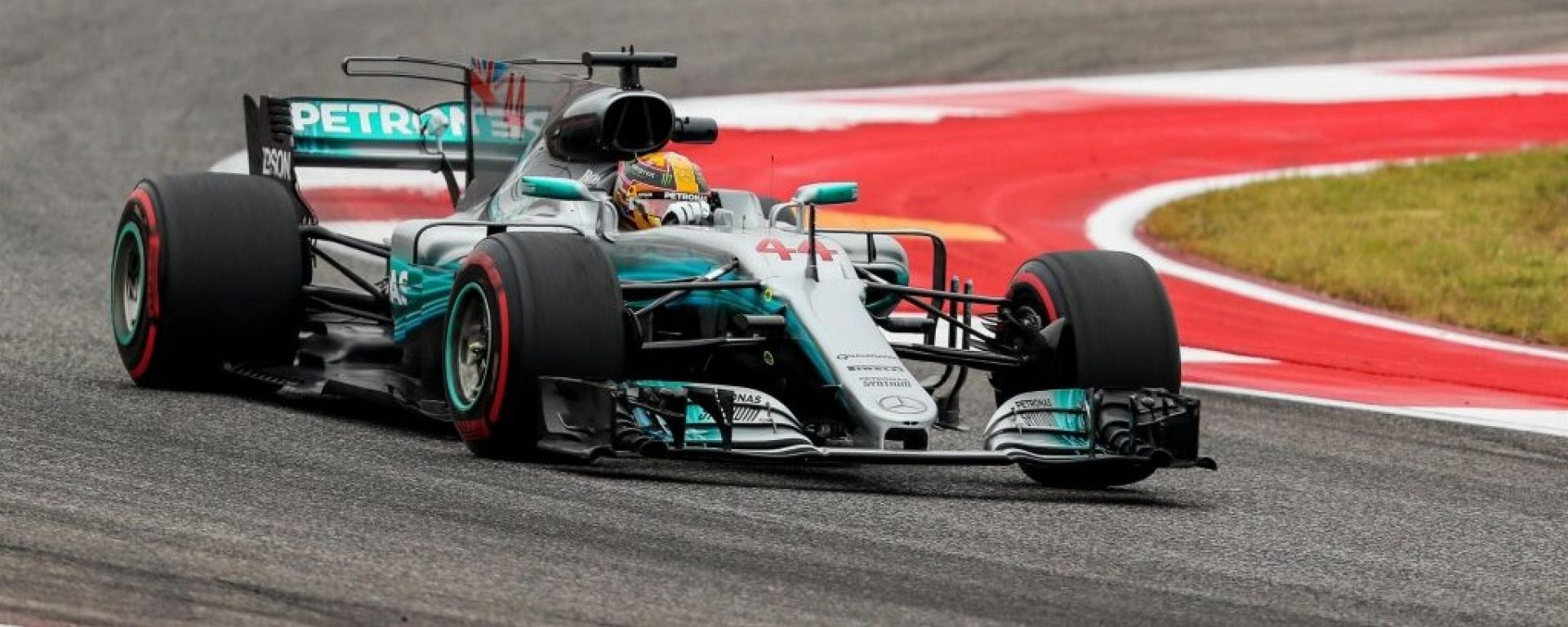 F1 2017 GP USA, Lewis Hamilton