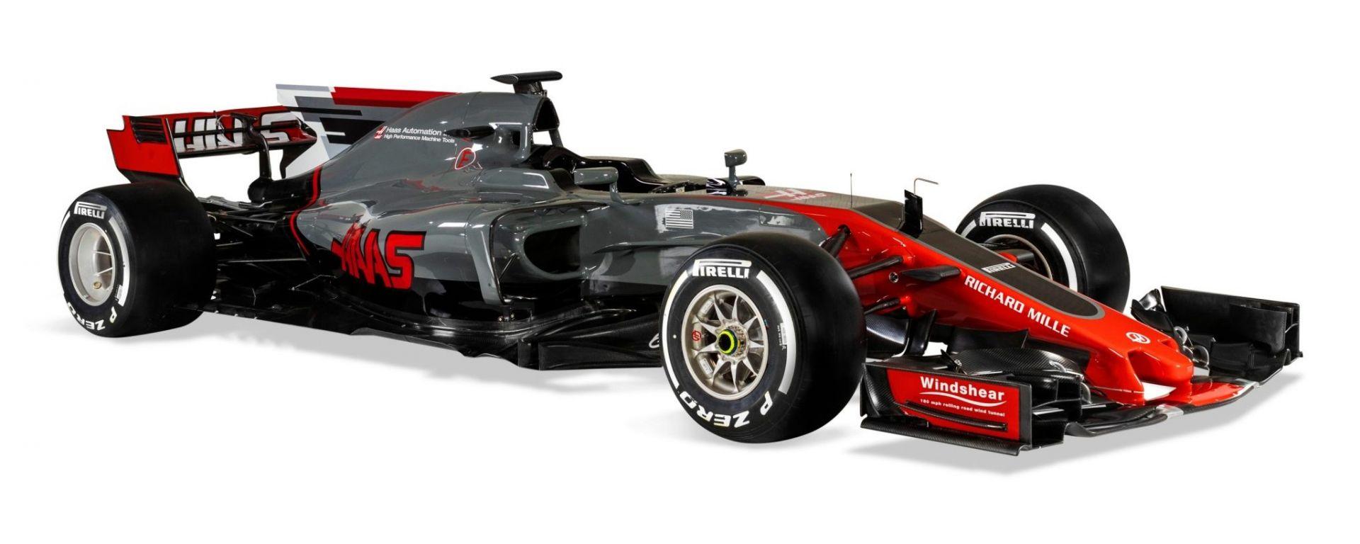 F1 2017: F1 2017: svelata la Haas F1 VF-17 - MotorBox