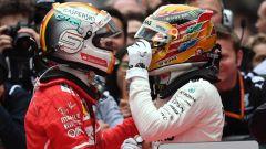 F1 2017, il braccio di ferro tra Vettel e Hamilton