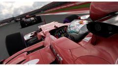 F1 2017, la Ferrari di Vettel