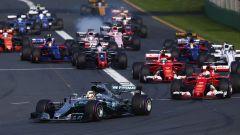 F1 2017, la partenza del GP d'Australia