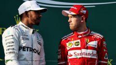 F1 2017, Lewis Hamilton vs Sebastian Vettel
