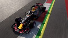 F1 2017, Red Bull RB13 in azione