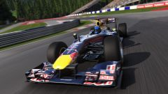 F1 2017, Red Bull RB6 in azione