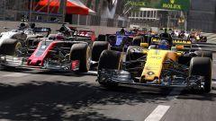 F1 2017, Renault vs HAAS a Montecarlo