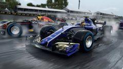 F1 2017, Sauber vs Red Bull