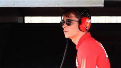 F1 2017 Test Hungaroring, Charles Leclerc terzo pilota della Ferrari