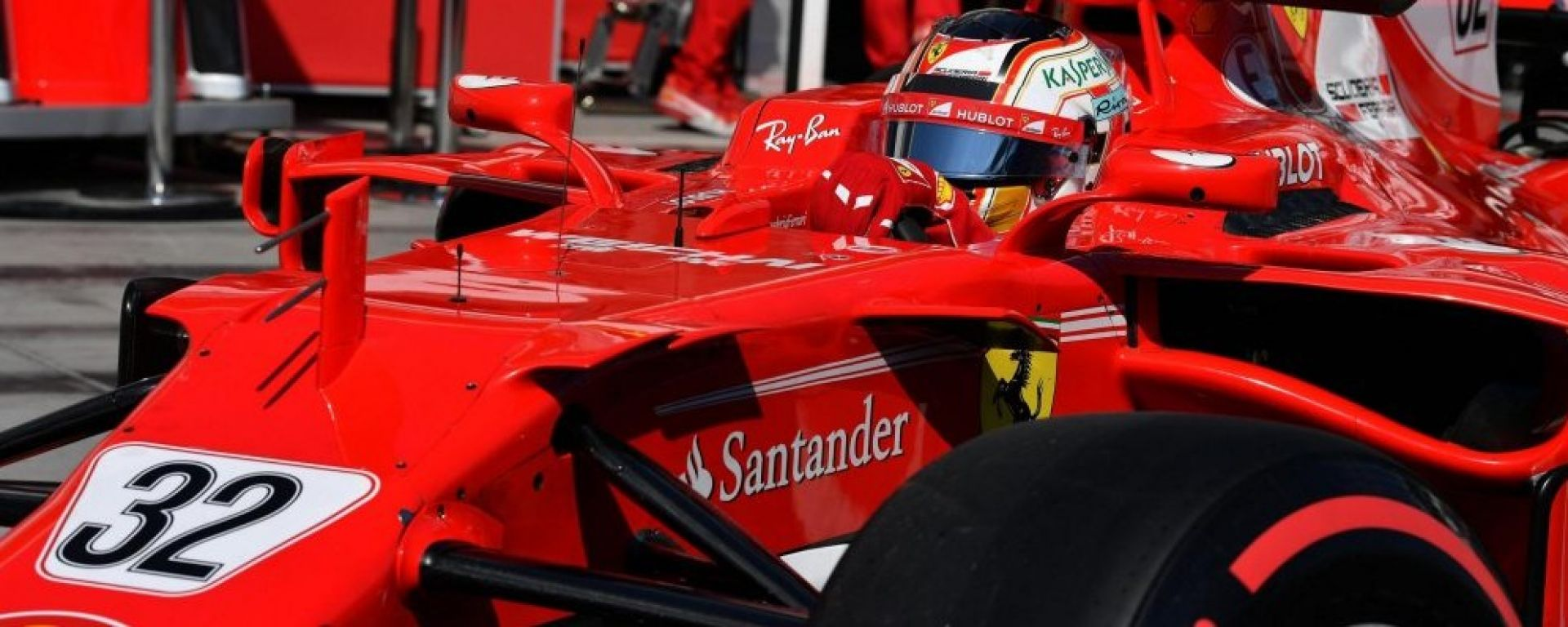 F1 2017 Test Hungaroring, Day 1