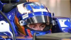 F1 2017 Test Hungaroring, Gustav Malja sulla Sauber