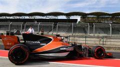 F1 2017 Test Hungaroring, Lando Norris con la McLaren