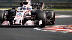 F1 2017 Test Hungaroring, Lucas Auer sulla Force India