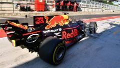 F1 2017 Test Hungaroring, Max Verstappen sulla Red Bull