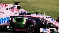 F1 2017 Test Hungaroring, Nikita Mazepin sulla Force India