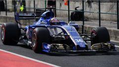 F1 2017 Test Hungaroring, Nobuharu Matsushita sulla Sauber