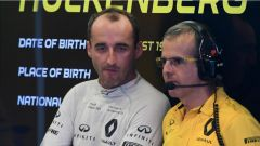 F1 2017 Test Hungaroring, Robert Kubica ai box