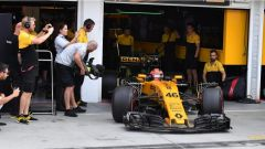 F1 2017 Test Hungaroring, Robert Kubica all'esordio sulla Renault RS17