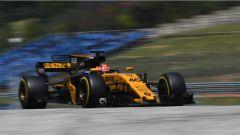 F1 2017 Test Hungaroring, Robert Kubica sulla Renault RS17