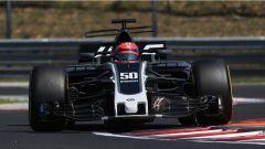 F1 2017 Test Hungaroring, Santino Ferrucci sulla HAAS
