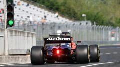 F1 2017 Test Hungaroring, Stoffel Vandoorne sulla McLaren