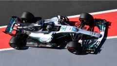 F1 2017 Test Hungaroring, Valtteri Bottas sulla Mercedes