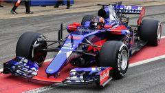 F1 2017 TEST PRE-STAGIONALI DAY 2 Daniil Kvyat