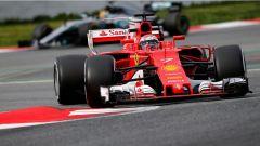 F1 2017 TEST PRE-STAGIONALI DAY 2 Kimi Raikkonen