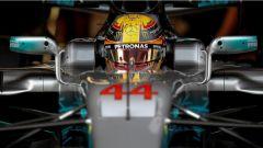 F1 2017 TEST PRE-STAGIONALI II DAY 2 Lewis Hamilton