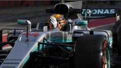 F1 2017 TEST PRE-STAGIONALI II DAY 3 Lewis Hamilton