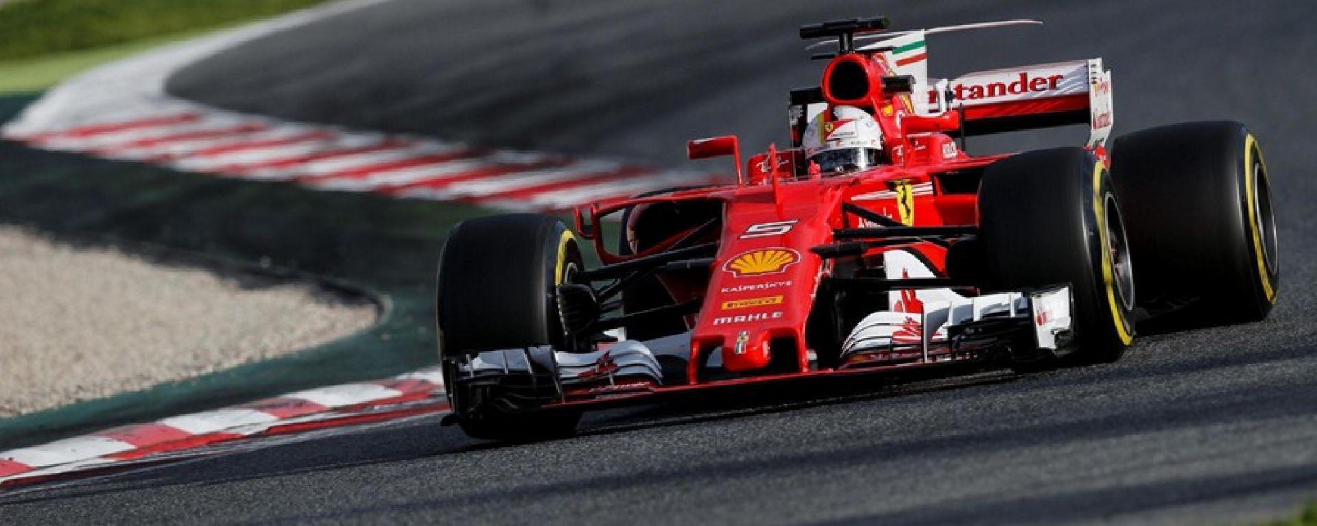 F1 2017 TEST PRE-STAGIONALI II DAY 3