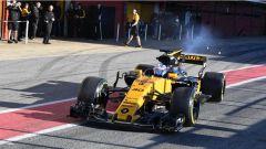 F1 2017 TEST PRE-STAGIONALI II Jolyon Palmer