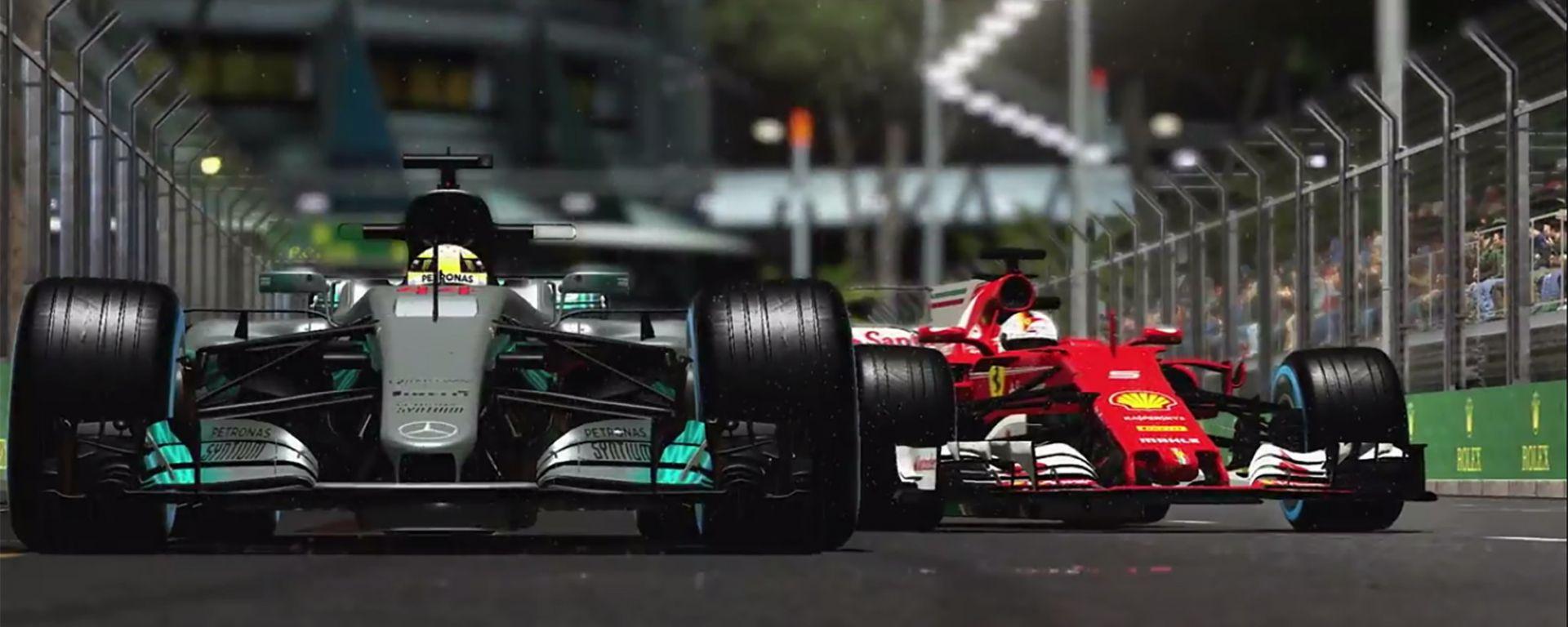 È uscito il videogioco F1 2017