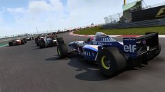 F1 2017, Williams-Renault FW18 in azione
