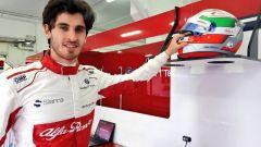 F1 2018, Antonio Giovinazzi nelle prove libere di Hockenheim con la Sauber