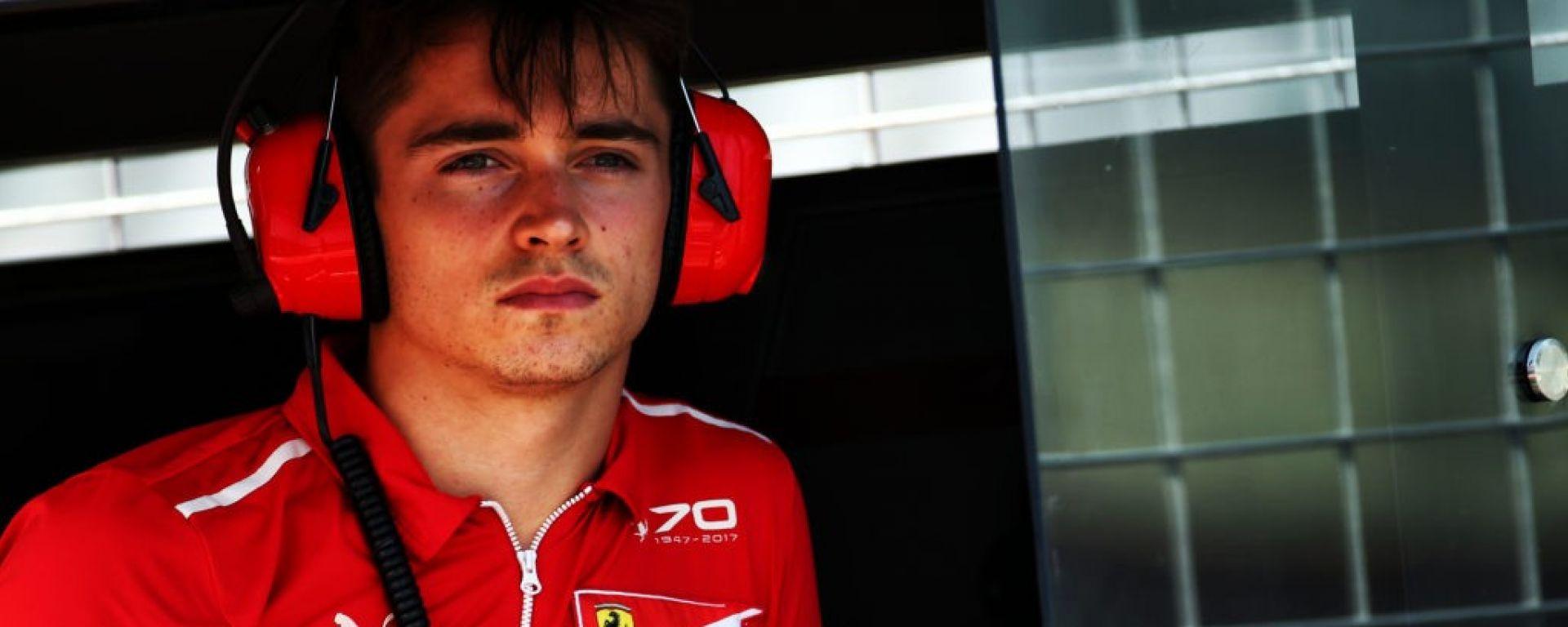 Charles Leclerc in Ferrari! Ora è ufficiale