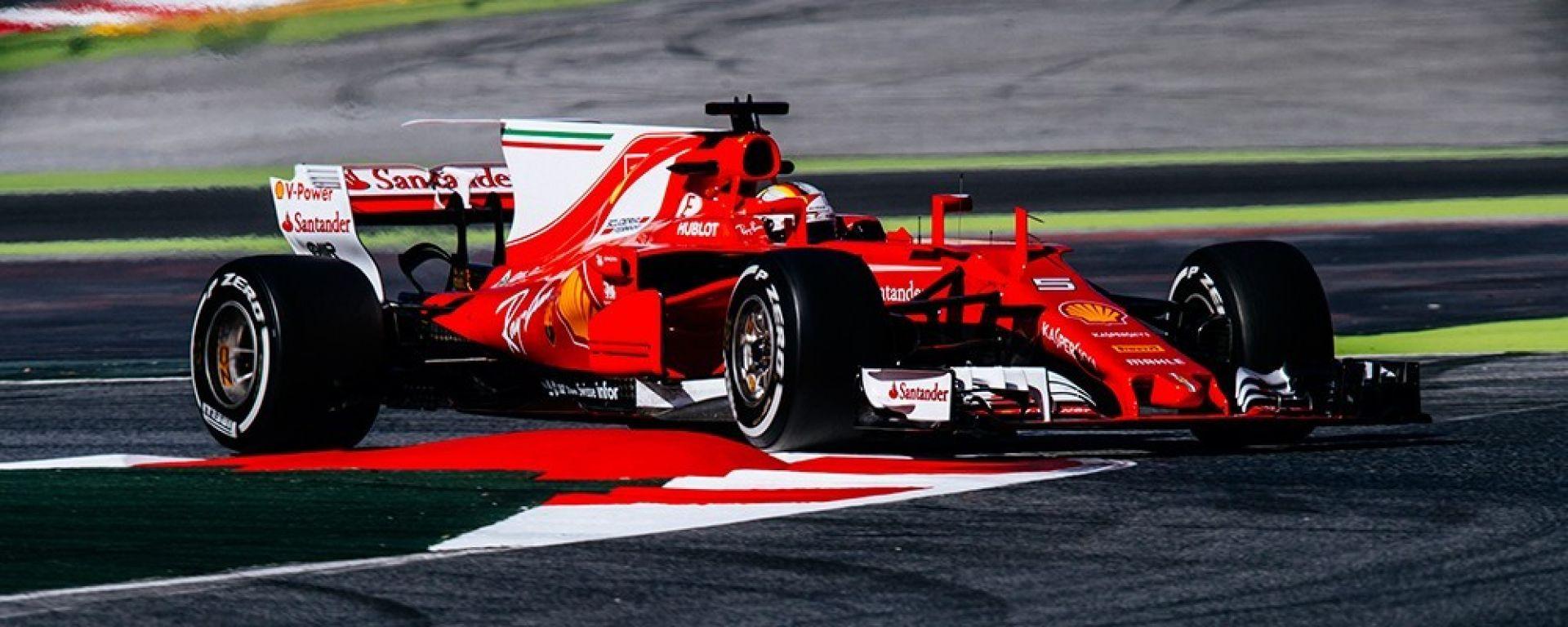F1 2018: ecco il nuovo fondo Ferrari per il GP Gran Bretagna