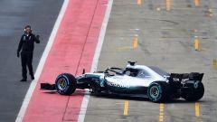 F1 2018: ecco la nuova Mercedes, segui la diretta online - Immagine: 8
