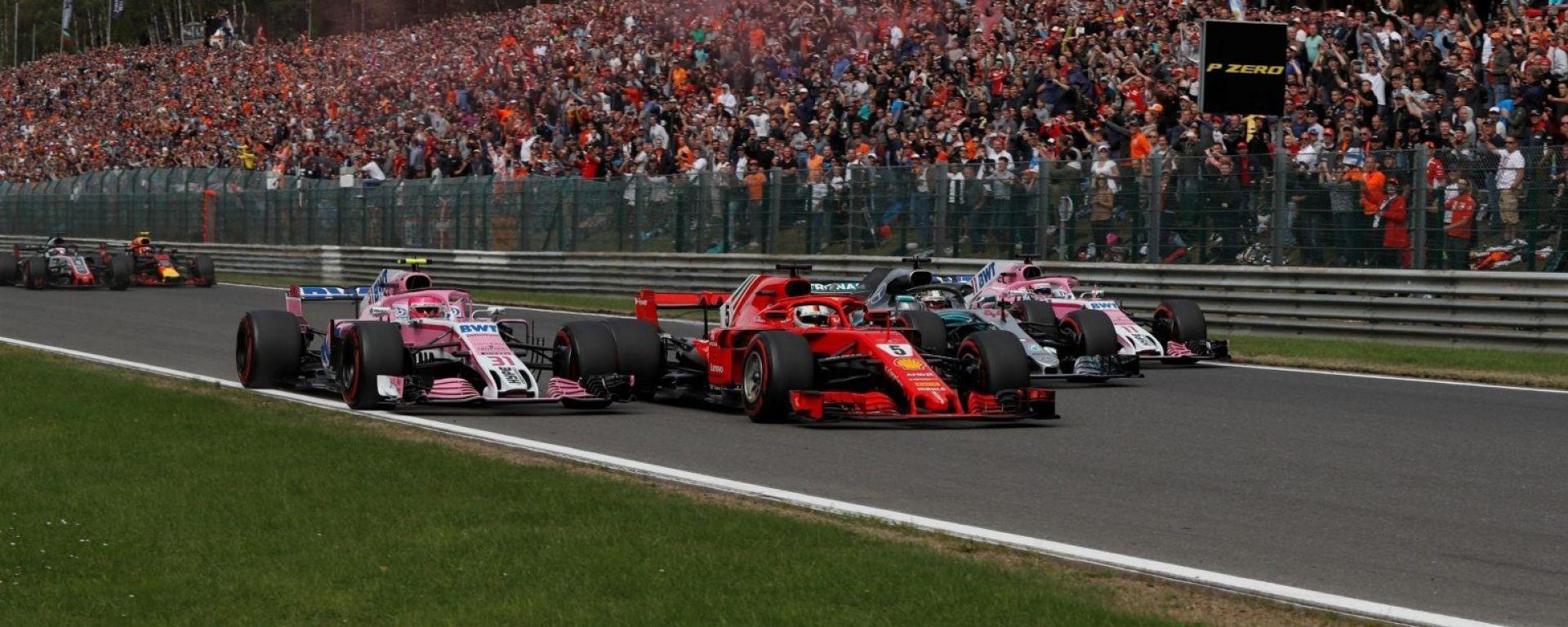 Ferrari vs Mercedes: il sorpasso