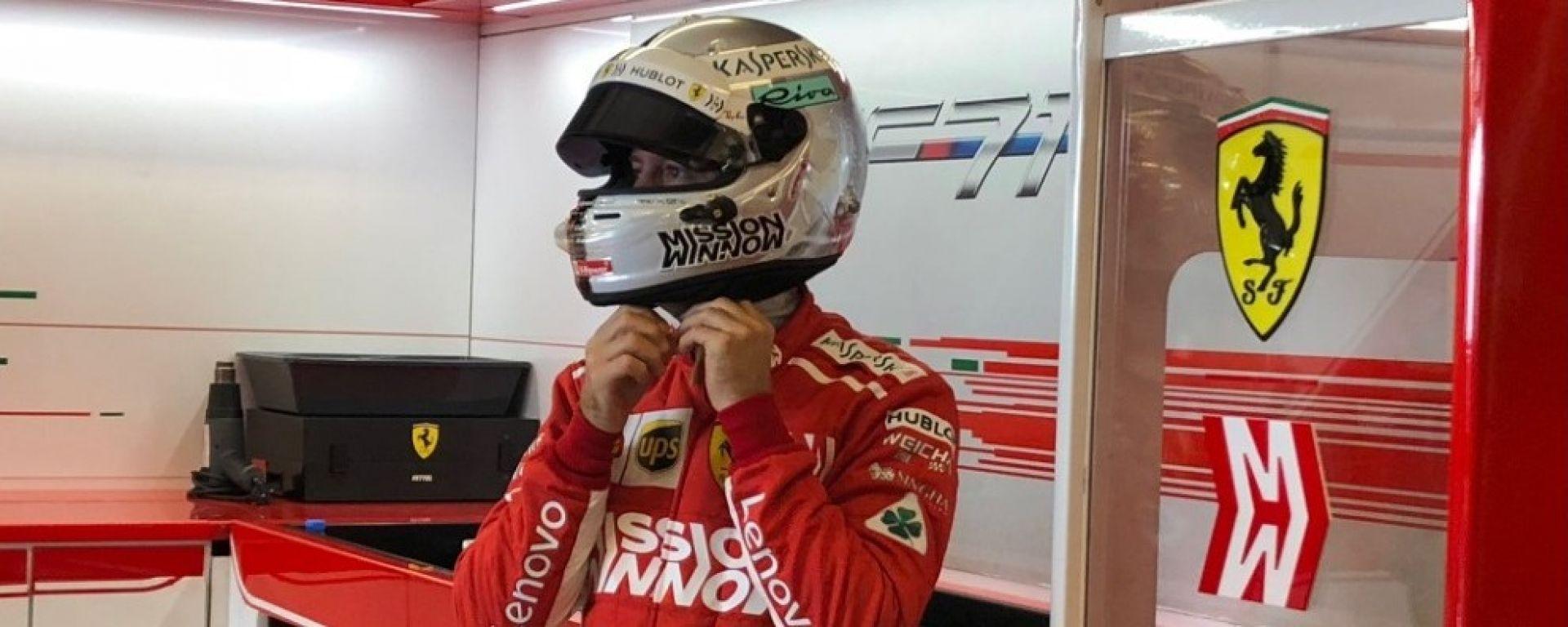 """GP Abu Dhabi, Vettel: """"Oggi non eravamo abbastanza veloci"""""""