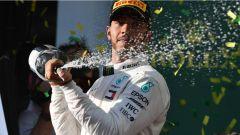 F1 2018 GP Australia, Hamilton secondo