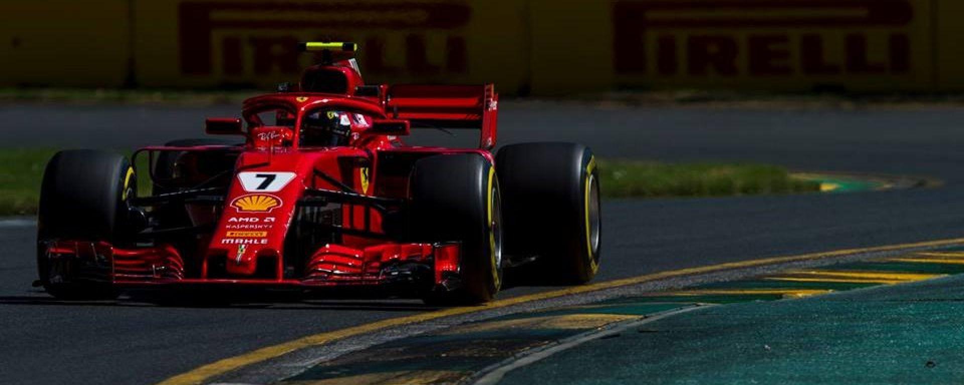 """Kimi Raikkonen: """"lavoriamo sul set up della Ferrari"""""""