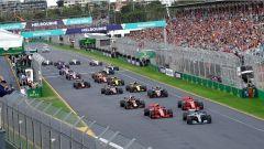 F1 2018 GP Australia, la partenza