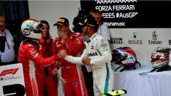 F1 2018 GP Australia, Vettel e Hamilton